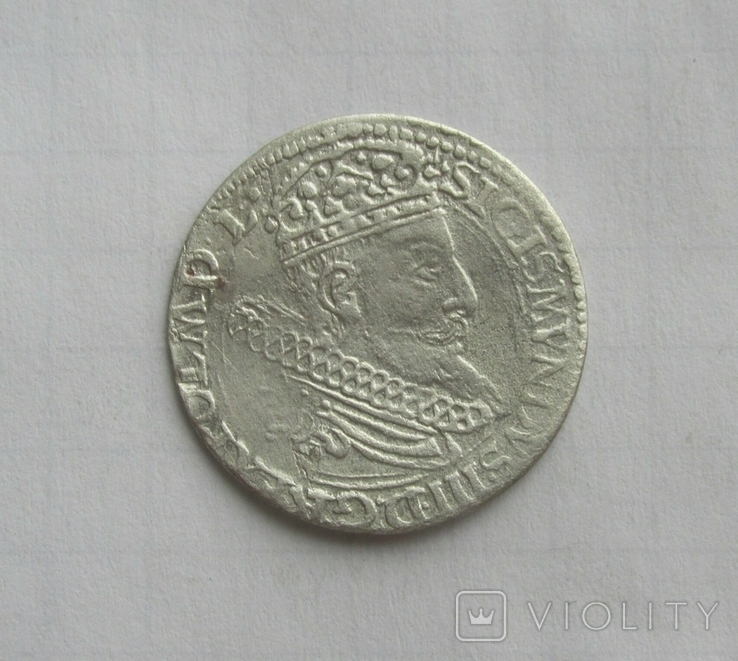 Грош 1604 Сигізмунд III, фото №2