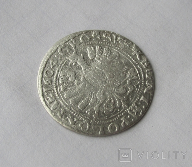 Грош 1604 Сигізмунд III, фото №5
