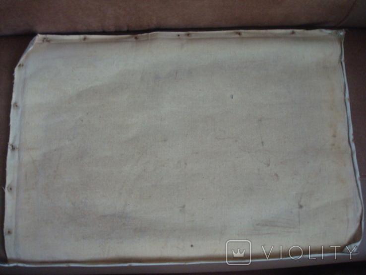 Картина на холсте без подрамника худ.W.Wolfram 50/35см., фото №12