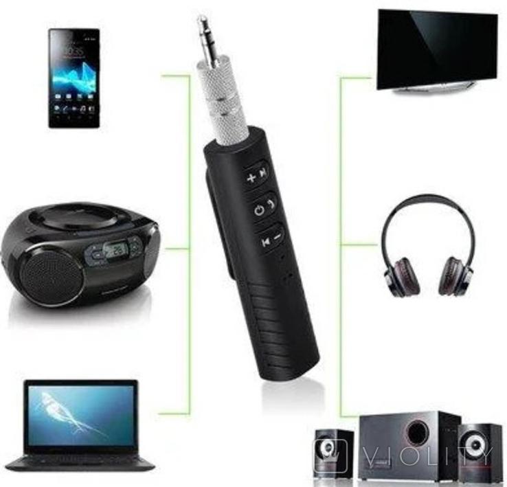 Bluetooth ресивер трансмиттер, адаптер, модулятор, фото №3