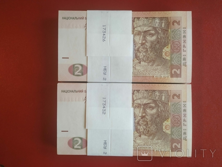 Україна Украина - 2 гривня гривна - 2013 - Соркін Соркин - 200 бон, фото №2