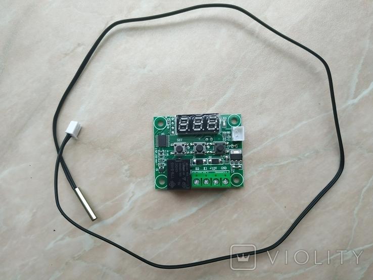 Терморегулятор W1209 термостат 12В, фото №3