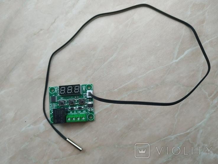 Терморегулятор W1209 термостат 12В, фото №4