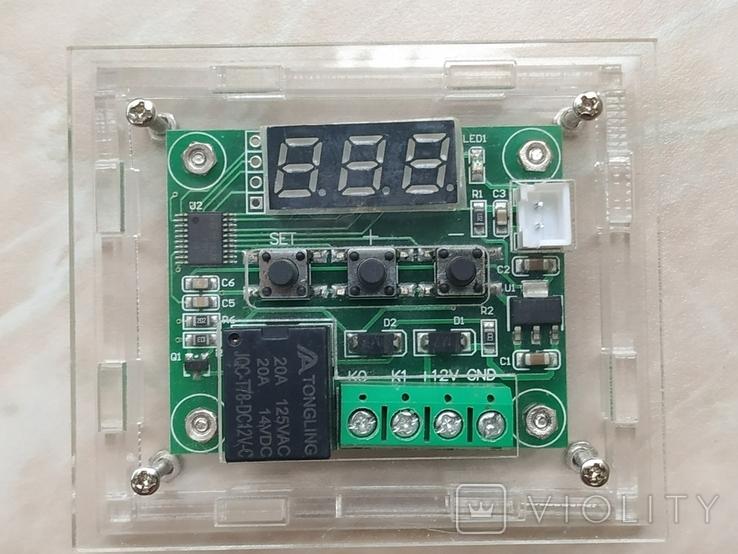 Терморегулятор W1209 термостат 12В, фото №5