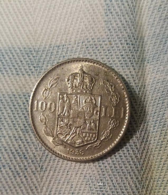 100 лей 1938 года, фото №3