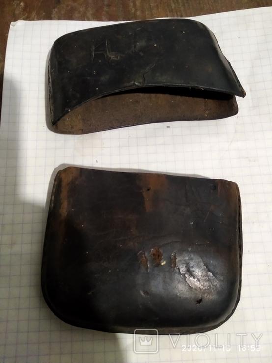 Портсигар кожаный, подписной, фото №5