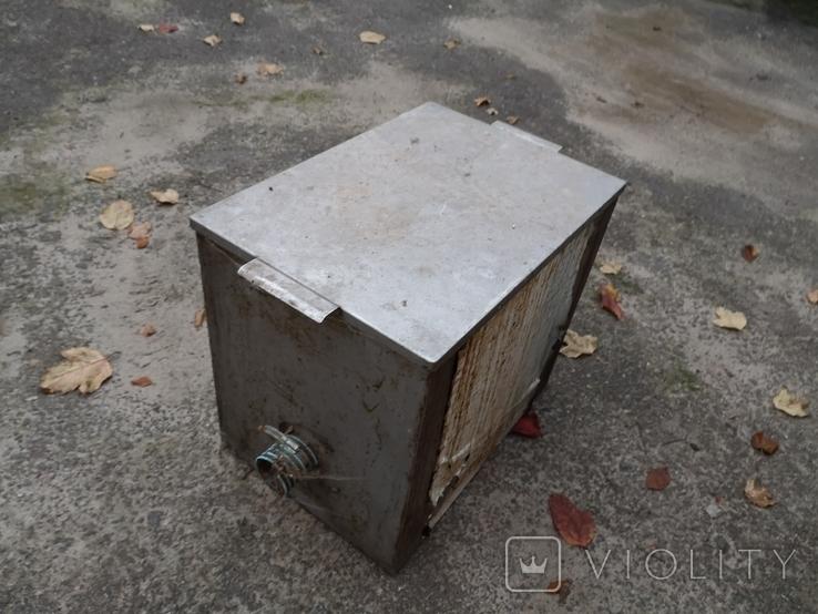 Бак бачек расширительный паровое отопление нержавейка б/у для воды, фото №4