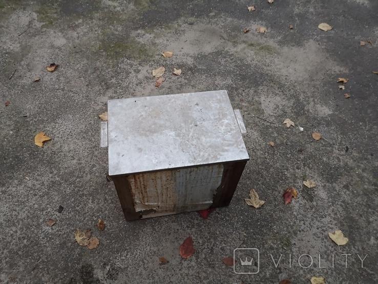 Бак бачек расширительный паровое отопление нержавейка б/у для воды, фото №5
