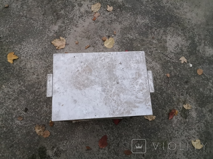 Бак бачек расширительный паровое отопление нержавейка б/у для воды, фото №6