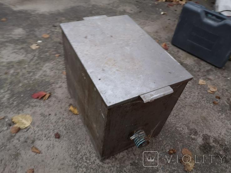 Бак бачек расширительный паровое отопление нержавейка б/у для воды, фото №10
