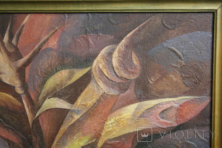 Картина абстракция  Шевченко А. С.  1992, фото №5
