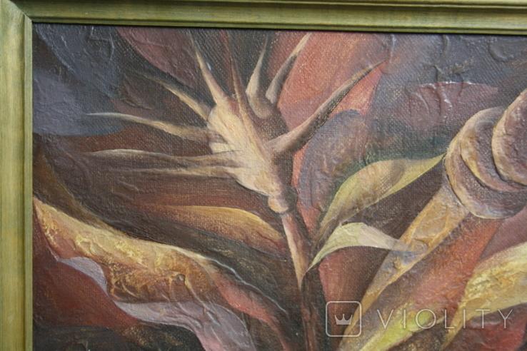 Картина абстракция  Шевченко А. С.  1992, фото №6