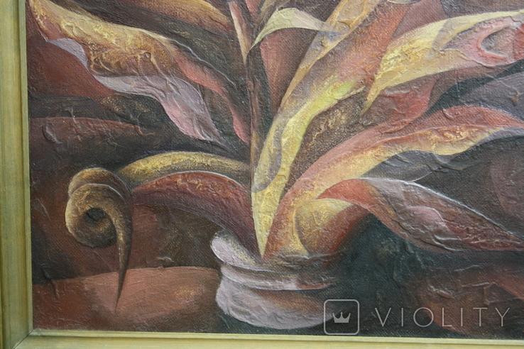 Картина абстракция  Шевченко А. С.  1992, фото №7