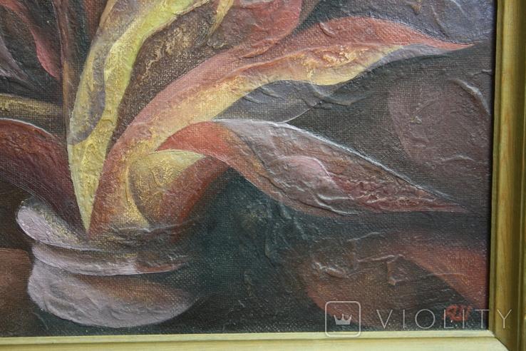 Картина абстракция  Шевченко А. С.  1992, фото №8