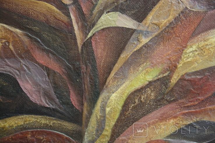 Картина абстракция  Шевченко А. С.  1992, фото №10