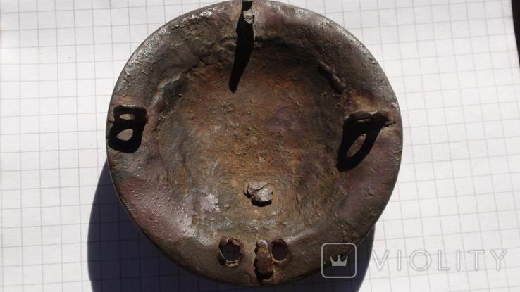 Накладка, нагрудник с конской сбруи, фото №7