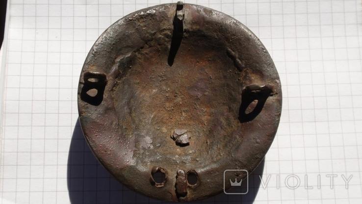 Накладка, нагрудник с конской сбруи, фото №8