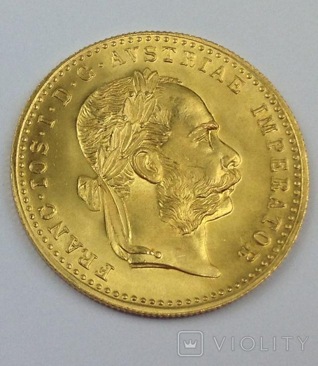 1 дукат 1915г. золото, Австро-Венгрия, фото №2