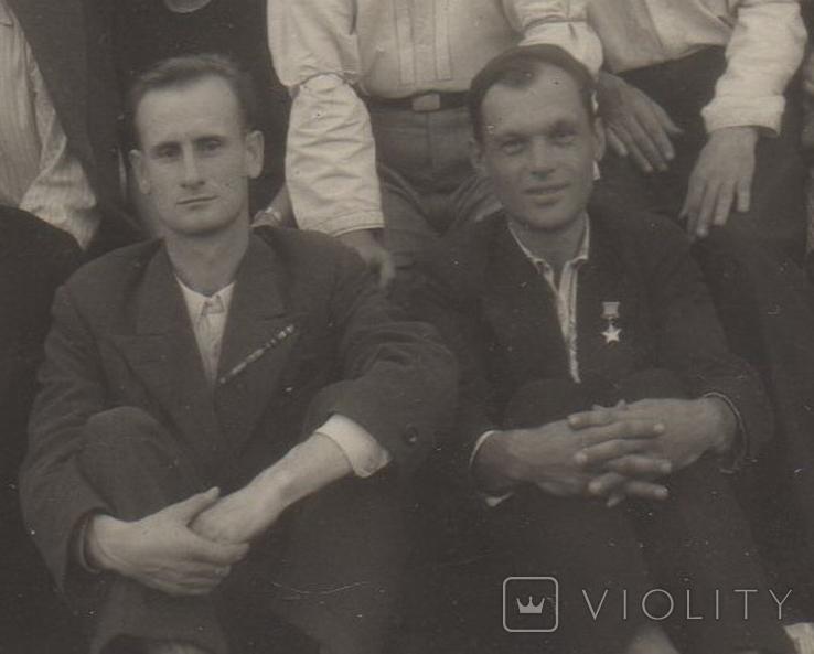Фото СССР. 1947 год. Совещание учителей. Дебальцево., фото №5