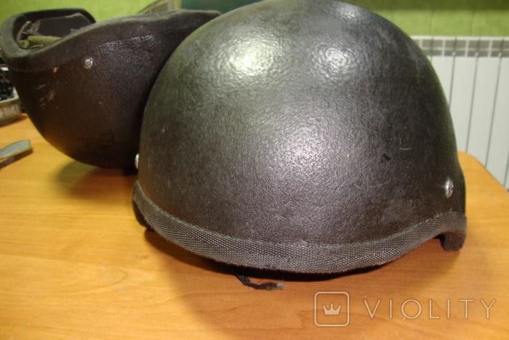 Чёрная кевларовая каска, фото №3