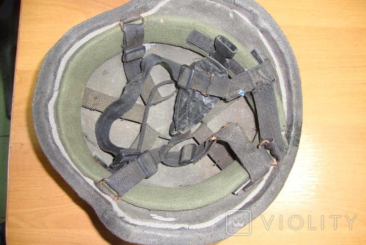 Чёрная кевларовая каска, фото №5