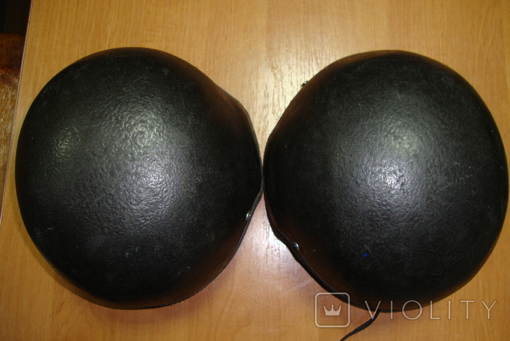 Чёрная кевларовая каска, фото №7