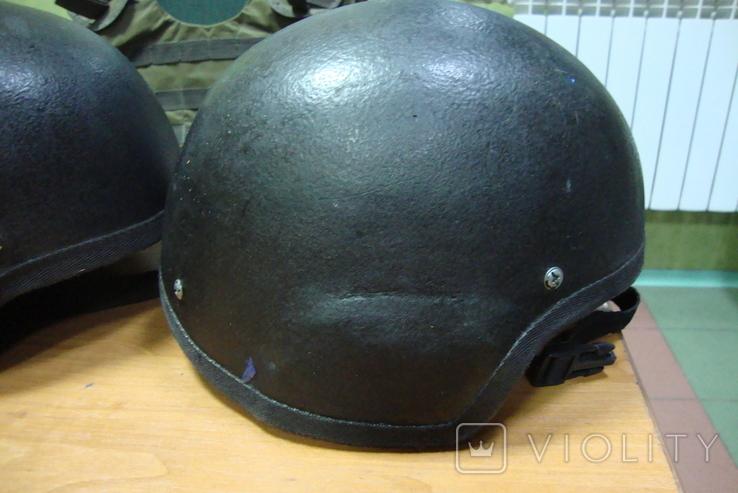 Чёрная кевларовая каска, фото №8