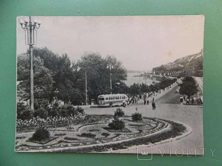 """1954 г.  """"Киев. Вид на набережную Днепра""""., фото №2"""