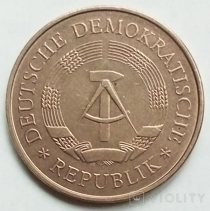 5 марок 1969 г. (юбилейная) ГДР, фото №2