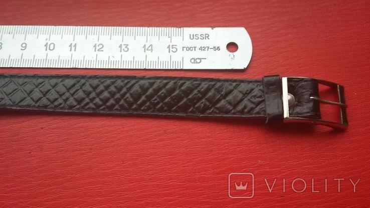 Ремешок кожаный из СССР, фото №3