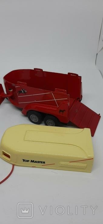 Трактор с прицепом, фото №8