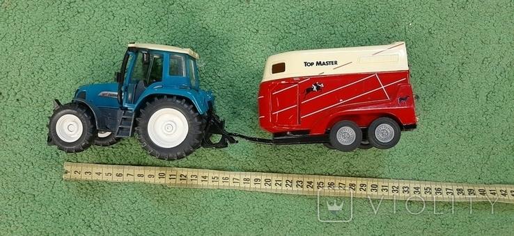 Трактор с прицепом, фото №3