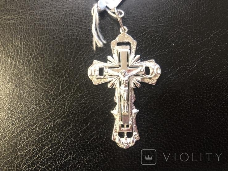 Крест . Серебро. Новый, фото №3