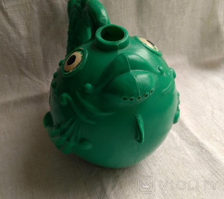 Советская игрушка Лейка Рыба, клеймо, фото №5
