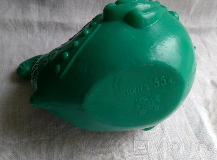 Советская игрушка Лейка Рыба, клеймо, фото №6
