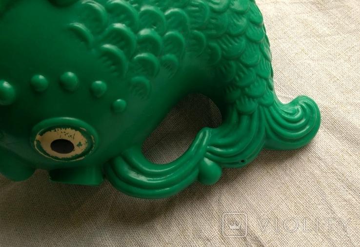 Советская игрушка Лейка Рыба, клеймо, фото №7