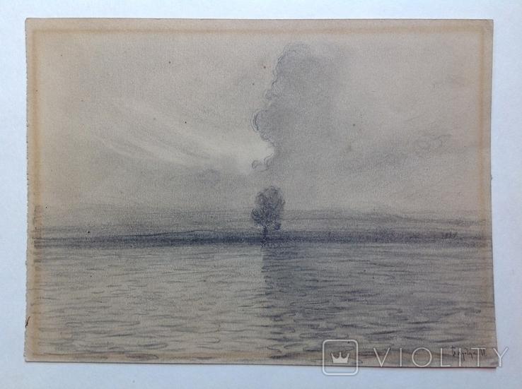 Рисунок Барчук И.  Наталка 14х19, фото №3