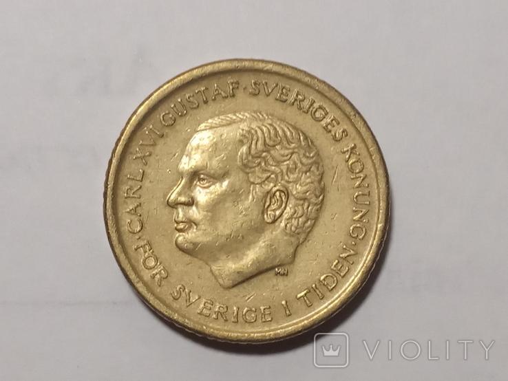 10 крон 1992г. Швеция, фото №2