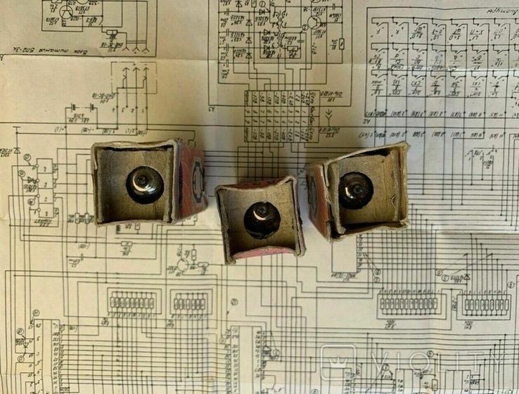 Радиолампы 6Н15П - 3 штуки, фото №4