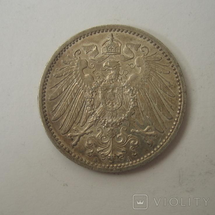 Германия 1 марка 1914 года.А, фото №4