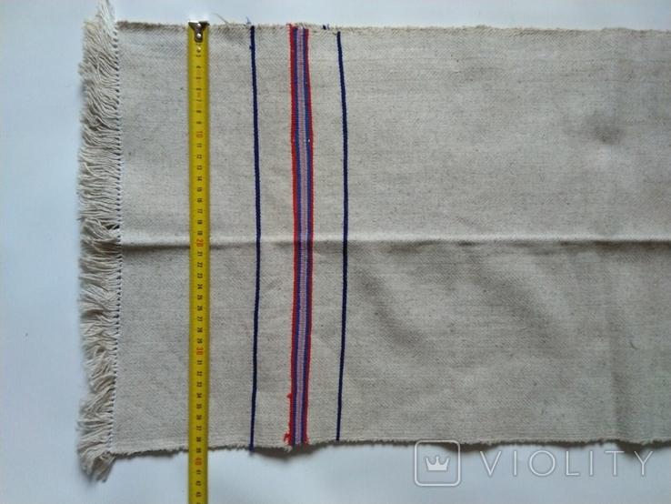 Салфетка, дорожка грубая тканая 40х130 см, фото №5