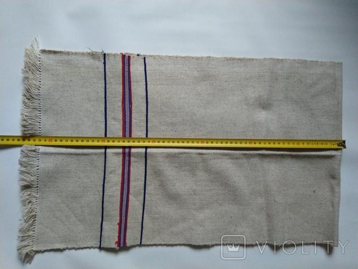 Салфетка, дорожка грубая тканая 40х130 см, фото №6