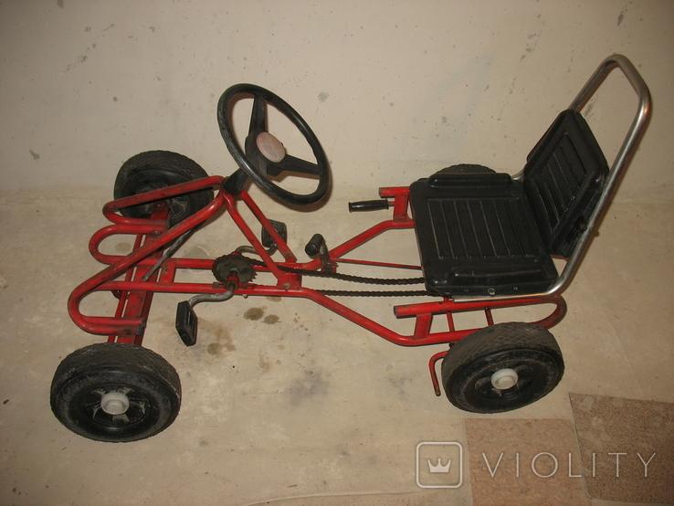 Карт веломобиль педальная машинка СССР, фото №2