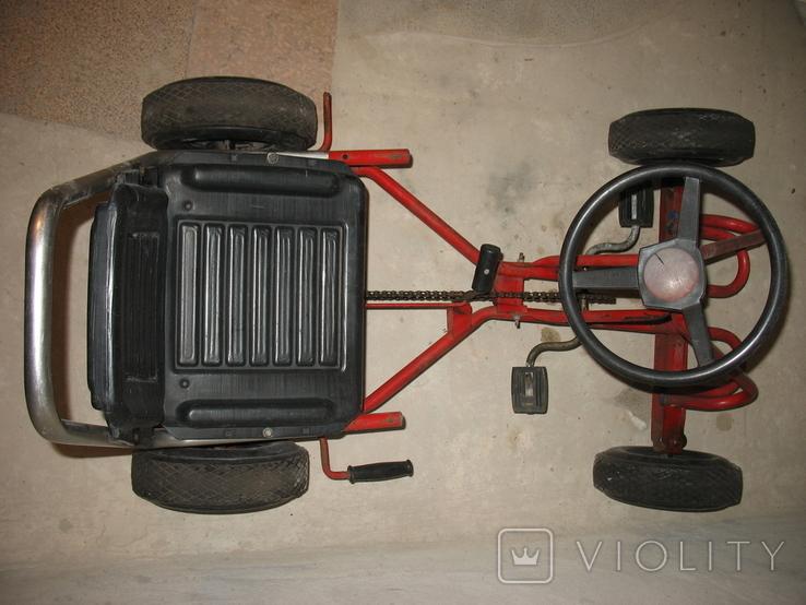 Карт веломобиль педальная машинка СССР, фото №4