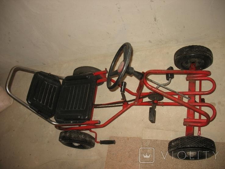 Карт веломобиль педальная машинка СССР, фото №6