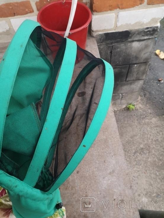 Пчеловодство пчеловодческий инвентарь дымарь сетка наващиватель маска, фото №9
