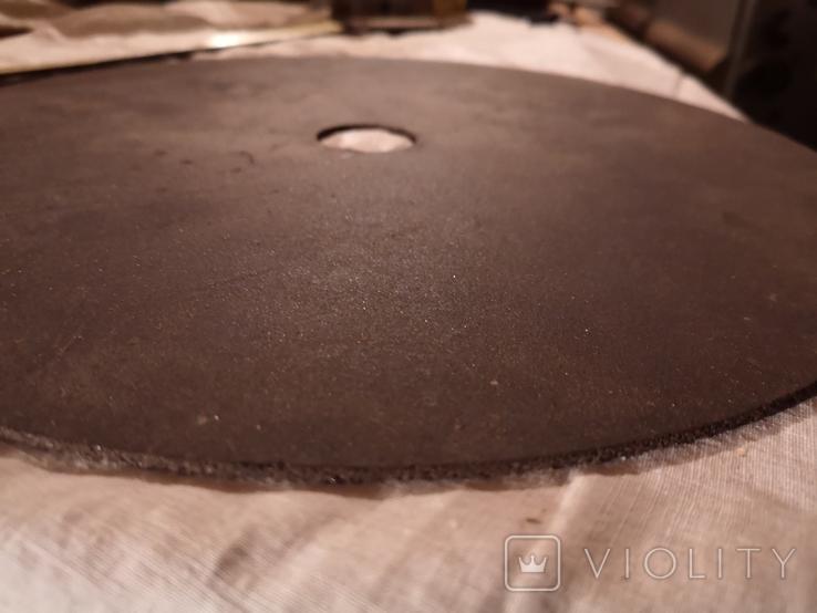 Диск отрезной СССР большой по металу для болгарки, фото №8