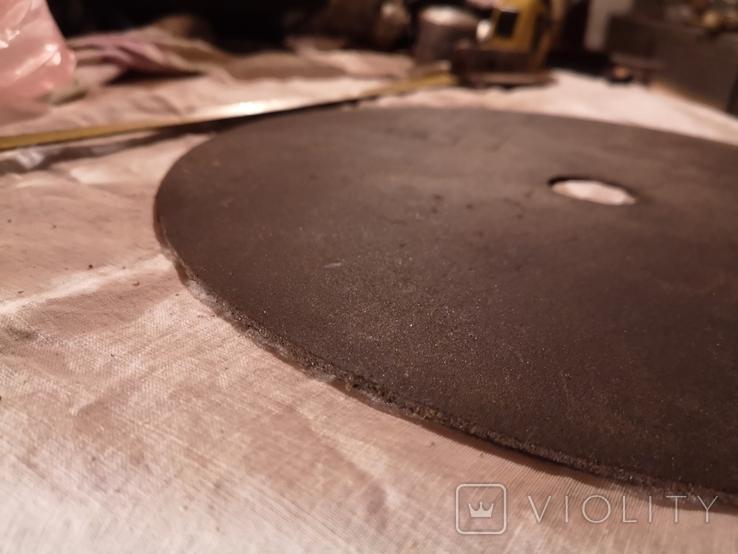 Диск отрезной СССР большой по металу для болгарки, фото №9