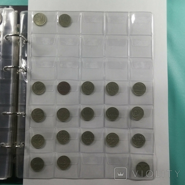 Альбом с монетами СССР 1925-1991 367шт., фото №12