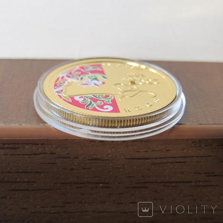 250 патакас 2009 г. Китай (1/4 oz. 999,9) PROOF, фото №8